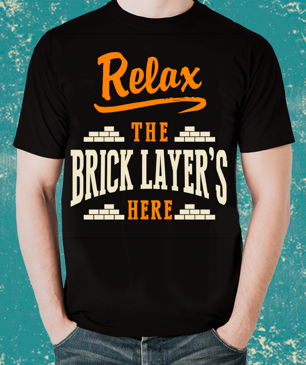 Tradesman Relax  BRICKLAYER T-Shirt