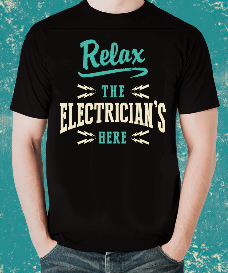 A Unique Gift for the  ELECTRICIAN cool T-Shirt -over 100 sold this week - The Official Aunty Acid Store
