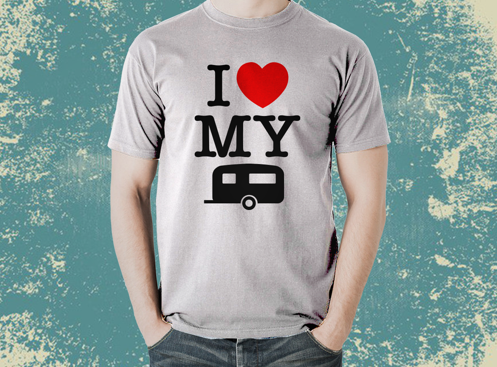 Our Best selling I LOVE MY CARAVAN  T-Shirt - The Official Aunty Acid Store