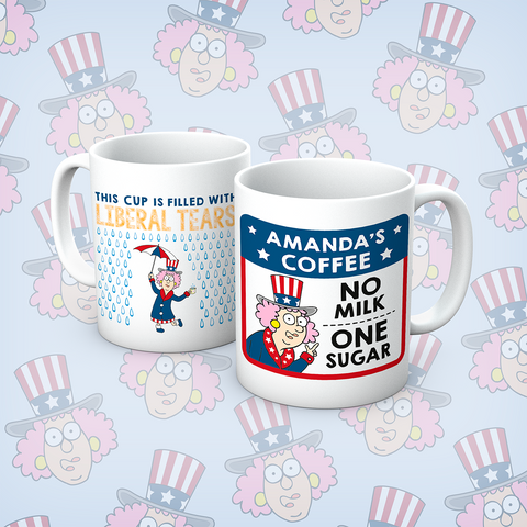Queens Of Sass Sassy Pants On Today Mug - The Official Aunty Acid Store