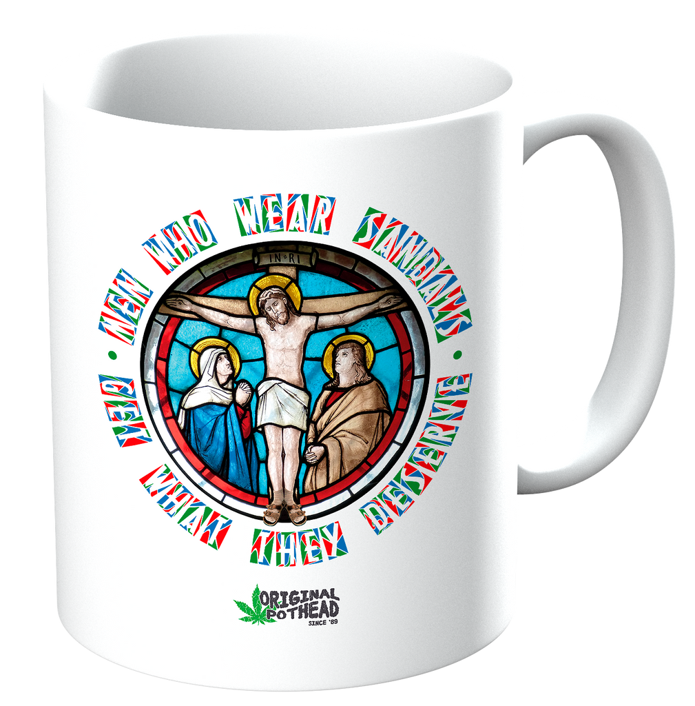 Potheads Men Who Wear Sandals 03 Mug - The Official Aunty Acid Store