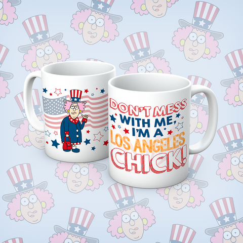 Aunty Acid LA chick Mug - The Official Aunty Acid Store