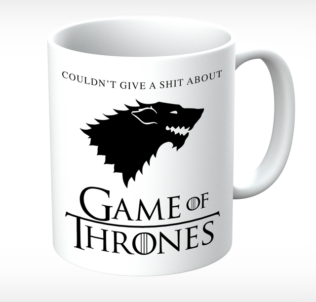 Grumpy Old Gits Game Of Thrones Mug