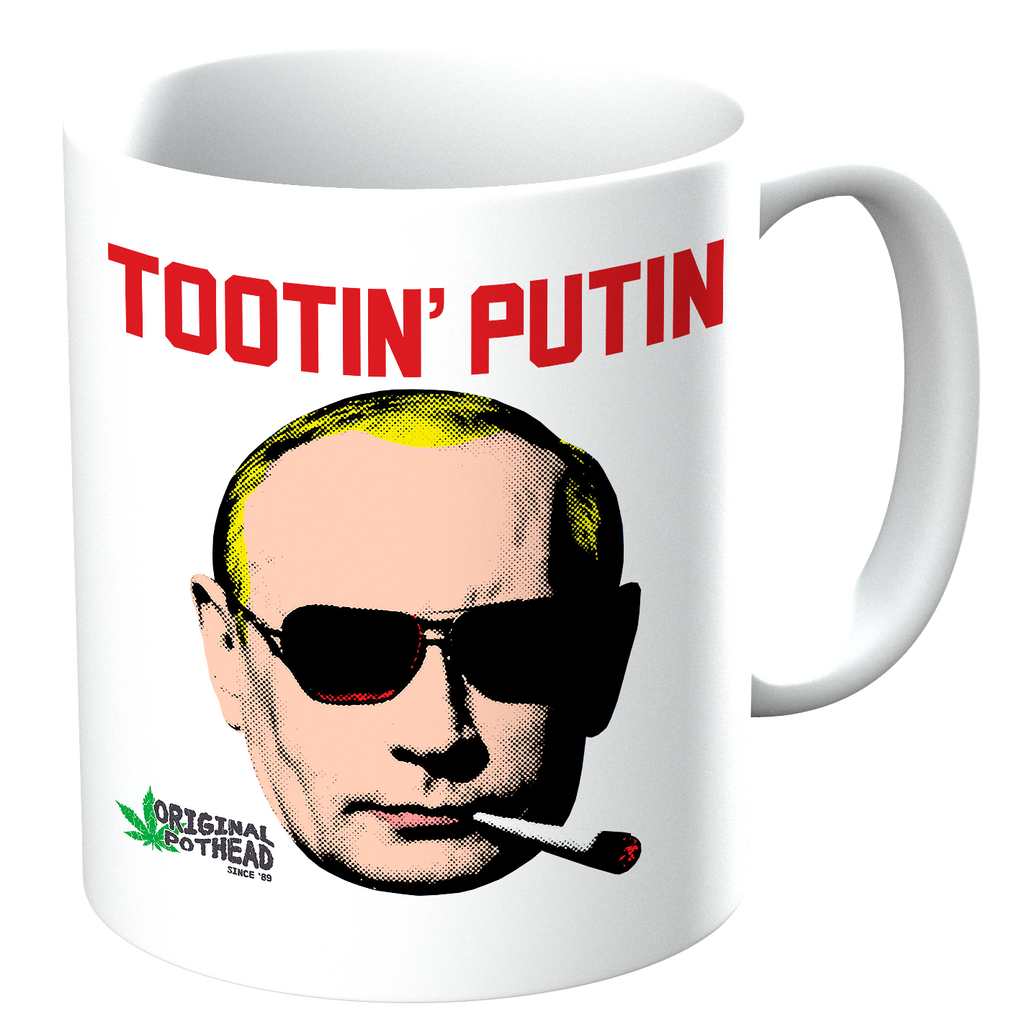 Potheads Tootin Putin Mug - The Official Aunty Acid Store