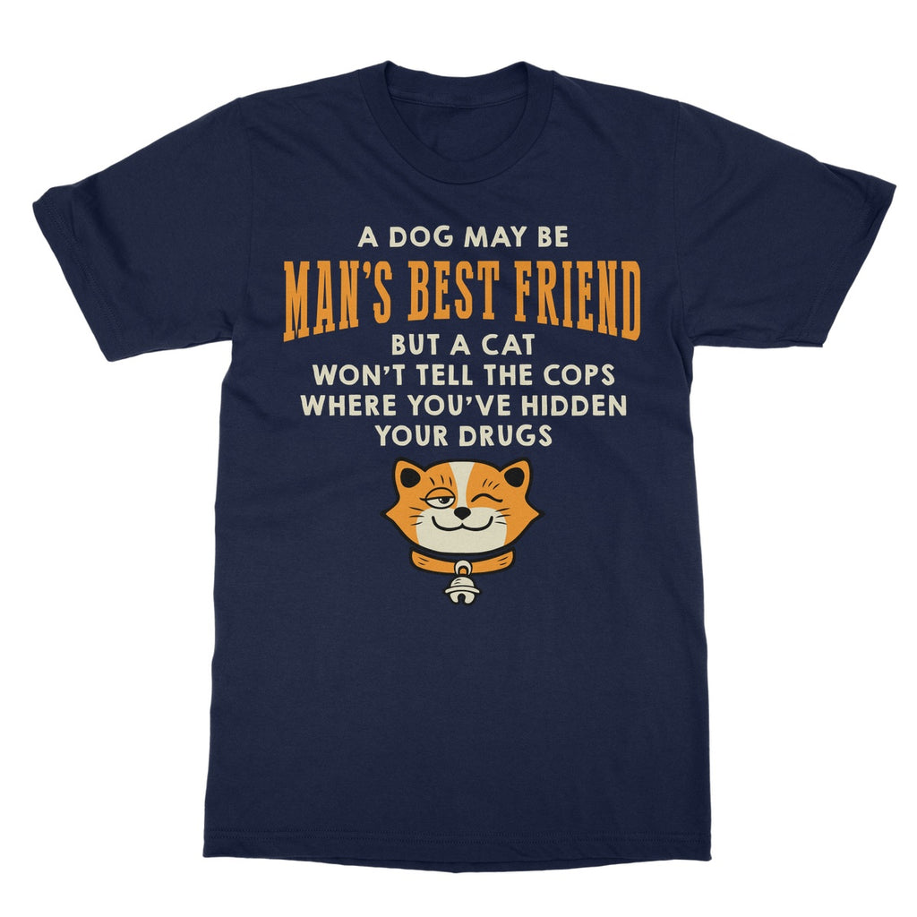 Man's Best Friend Softstyle T-Shirt - The Official Aunty Acid Store