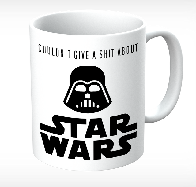 Grumpy Old Gits Star Wars Mug