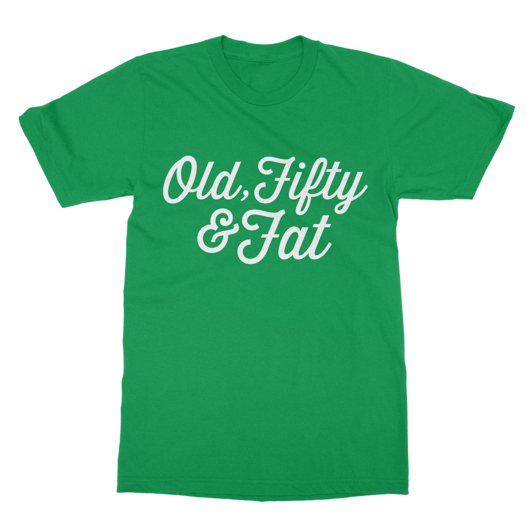 Grumpy Old Gits Fifty T-Shirt - The Official Aunty Acid Store