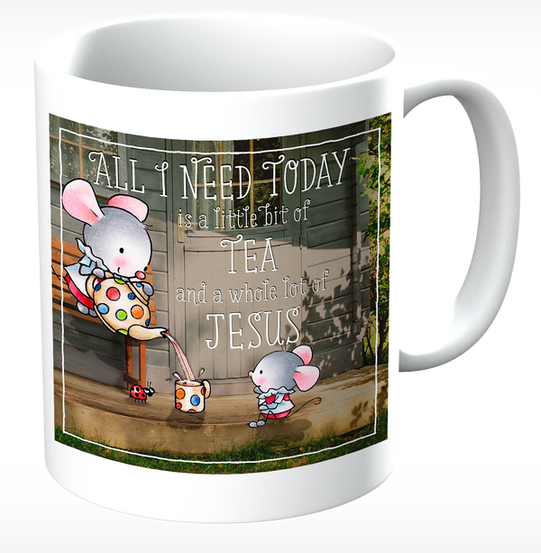 Little Church Mouse Tea Mug