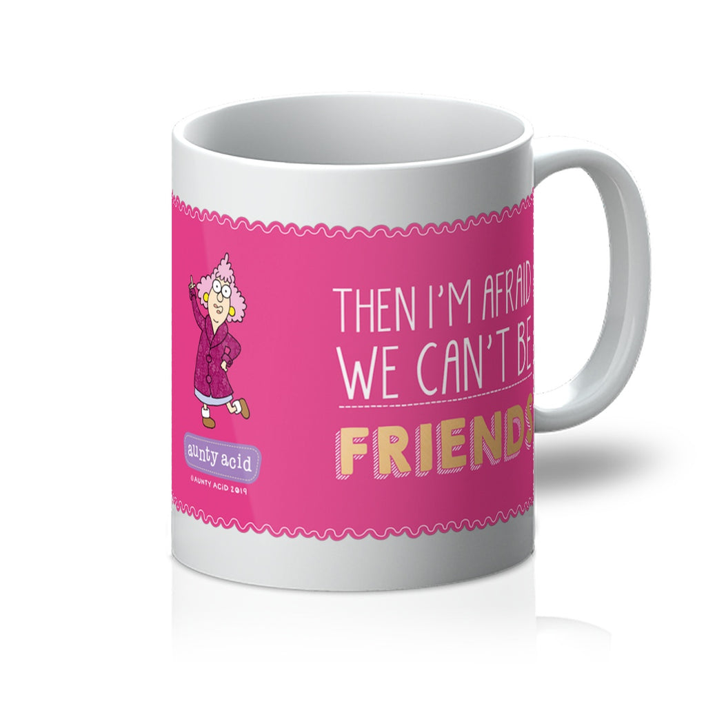 A Little Crazy Mug - The Official Aunty Acid Store