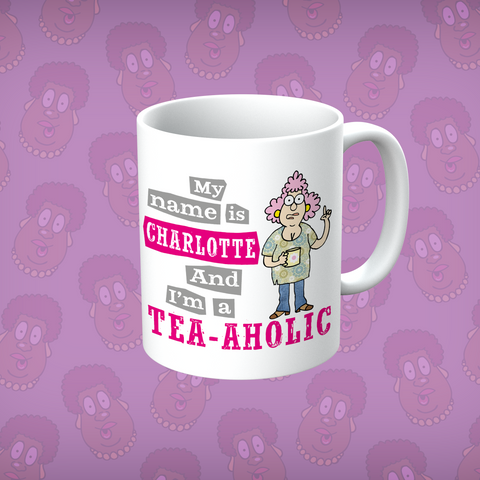 Aunty Acid My Name Is Personalised Mug - The Official Aunty Acid Store