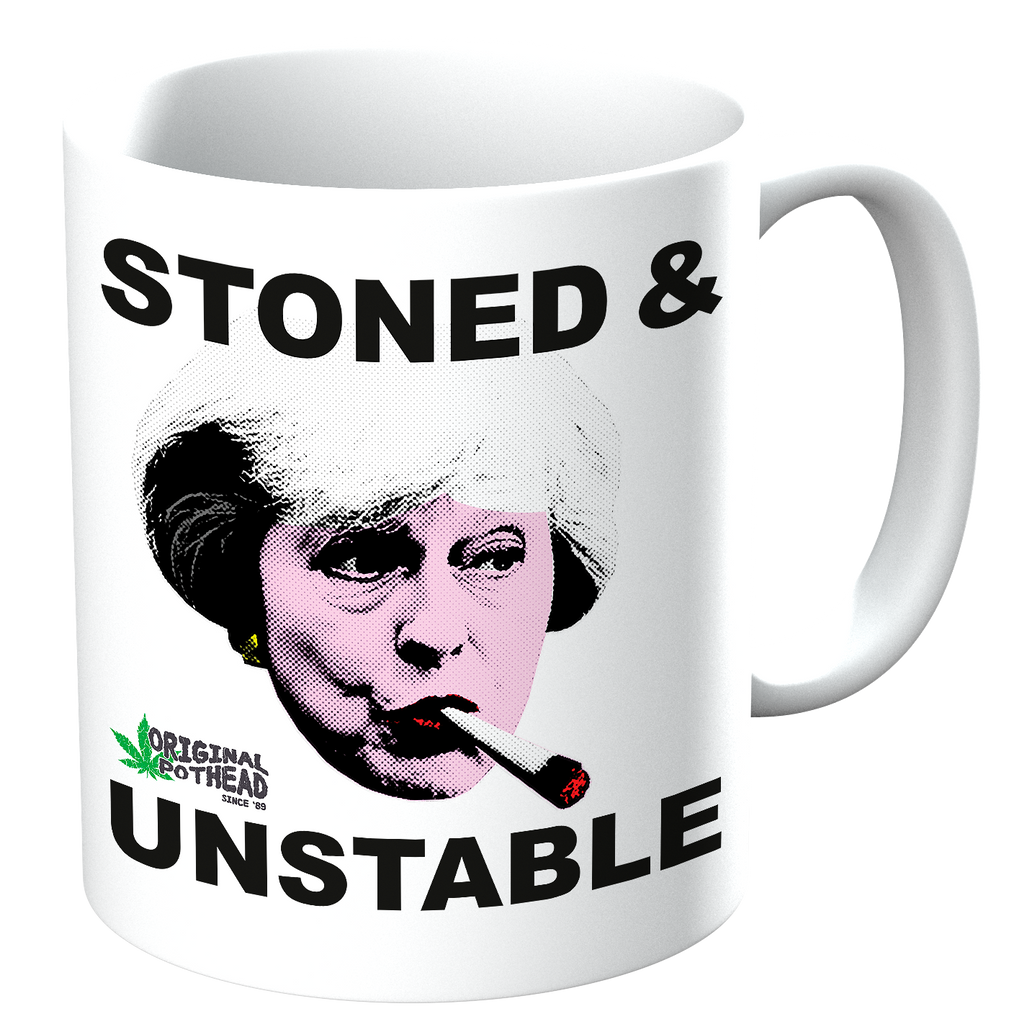 Potheads Stoned and Unstable Mug - The Official Aunty Acid Store