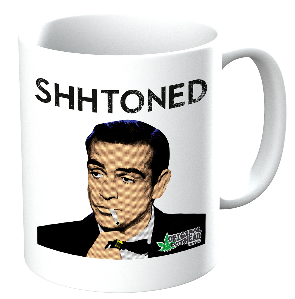 Potheads Shhtoned Mug - The Official Aunty Acid Store