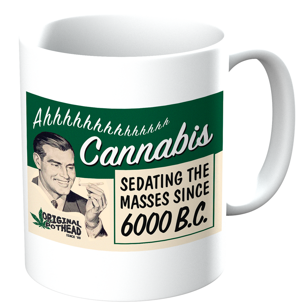 Potheads Cannabis Mug - The Official Aunty Acid Store