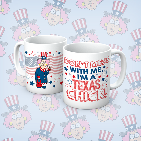 Aunty Acid Texas chick Mug - The Official Aunty Acid Store
