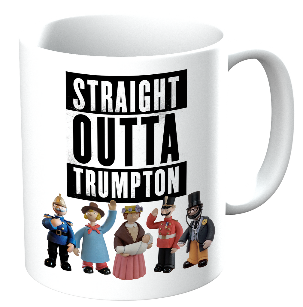 Potheads Straight Outta Trumpton Mug - The Official Aunty Acid Store