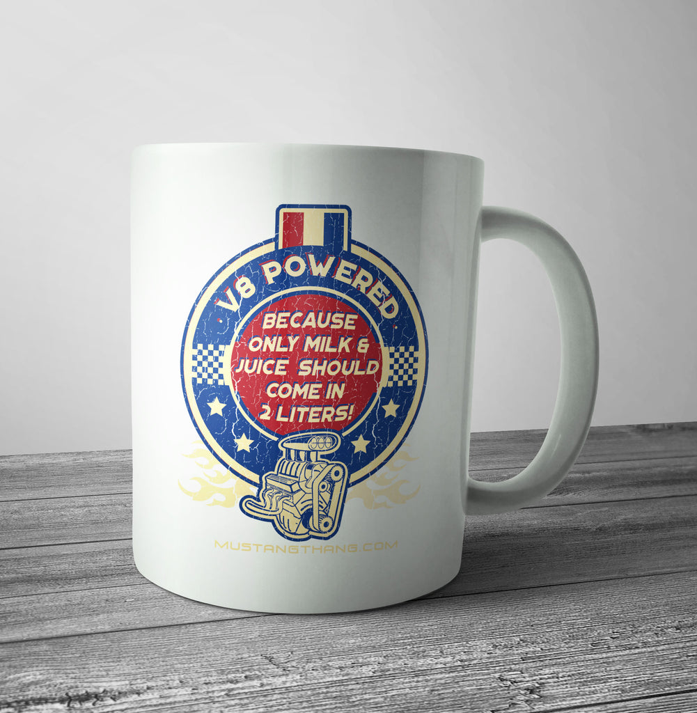 Mustang Thang 2 Liters Mug - The Official Aunty Acid Store