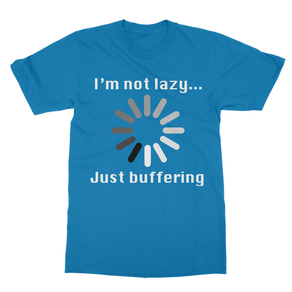Grumpy Old Gits Buffering T-Shirt - The Official Aunty Acid Store