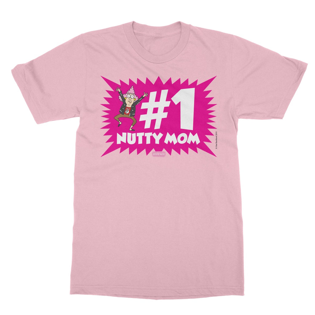 Aunty Acid Nutty Mom T-Shirt - The Official Aunty Acid Store
