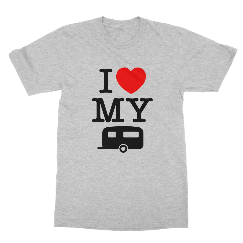I Love My Caravan Softstyle T-Shirt