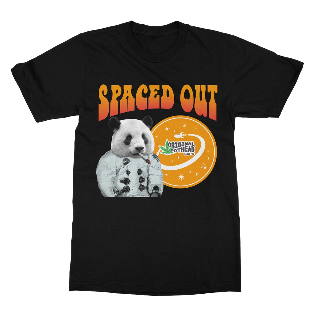 Potheads Spaced Out Panda T-Shirt