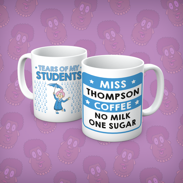 Aunty Acid Tears Of My Students Personalised Mug - The Official Aunty Acid Store