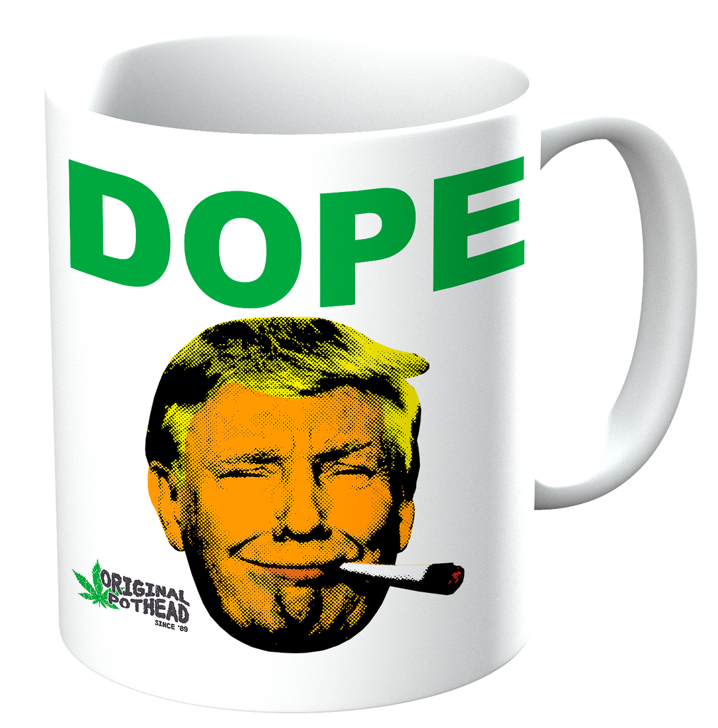 Potheads Trump Dope Mug - The Official Aunty Acid Store