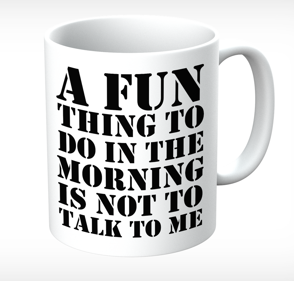Grumpy Old Gits Not To Talk To Me Mug - The Official Aunty Acid Store