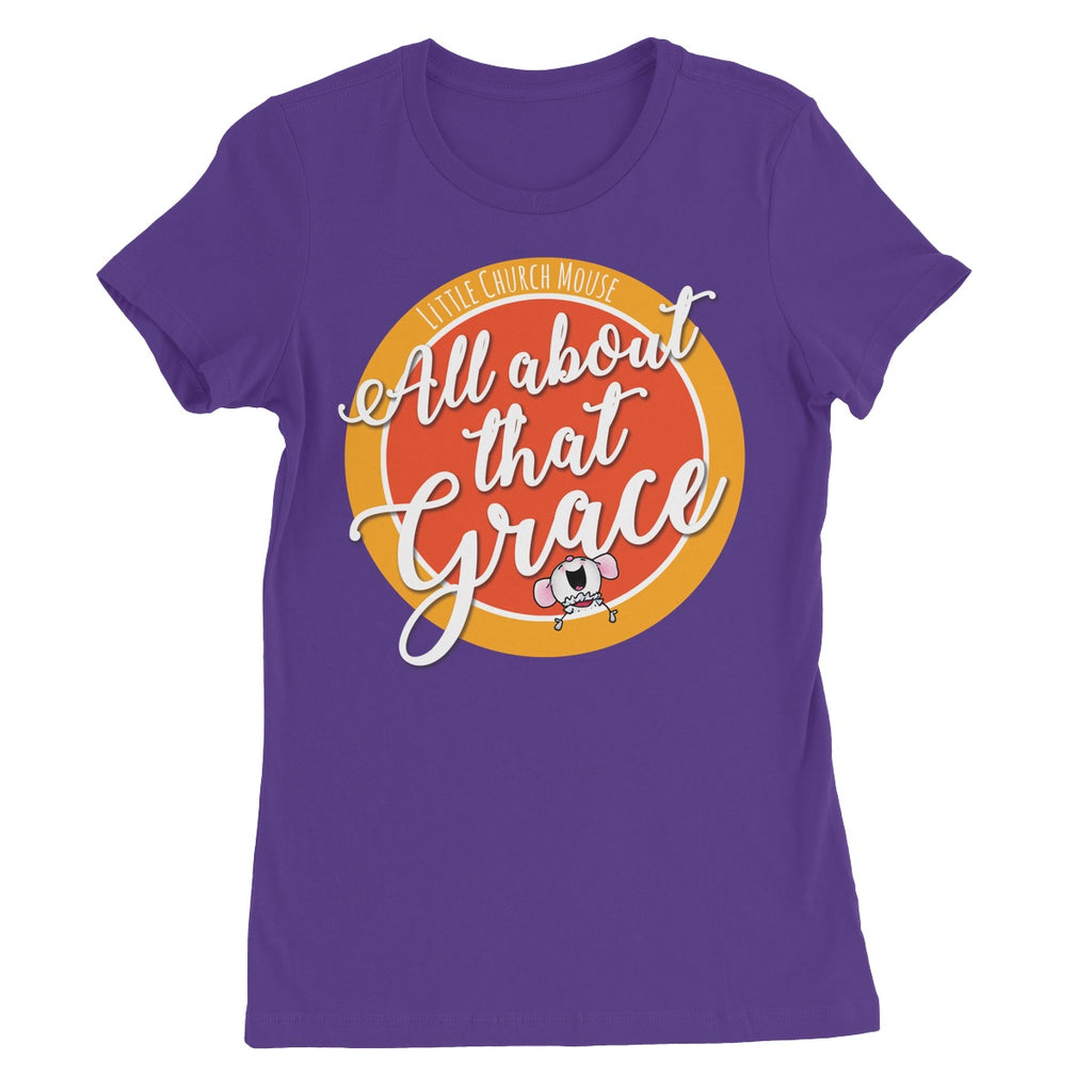 Little Church Mouse Grace T-Shirt - The Official Aunty Acid Store