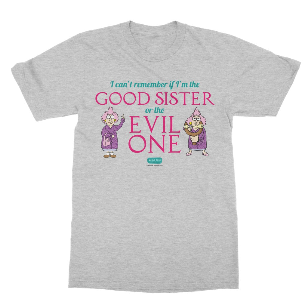 Aunty Acid Good Sister T-Shirt - The Official Aunty Acid Store