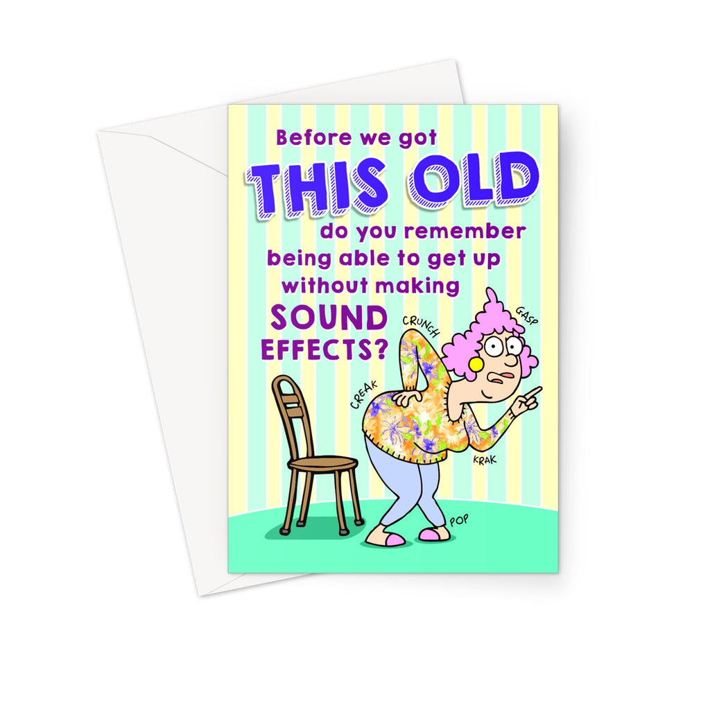 Sound Effects Greeting Card