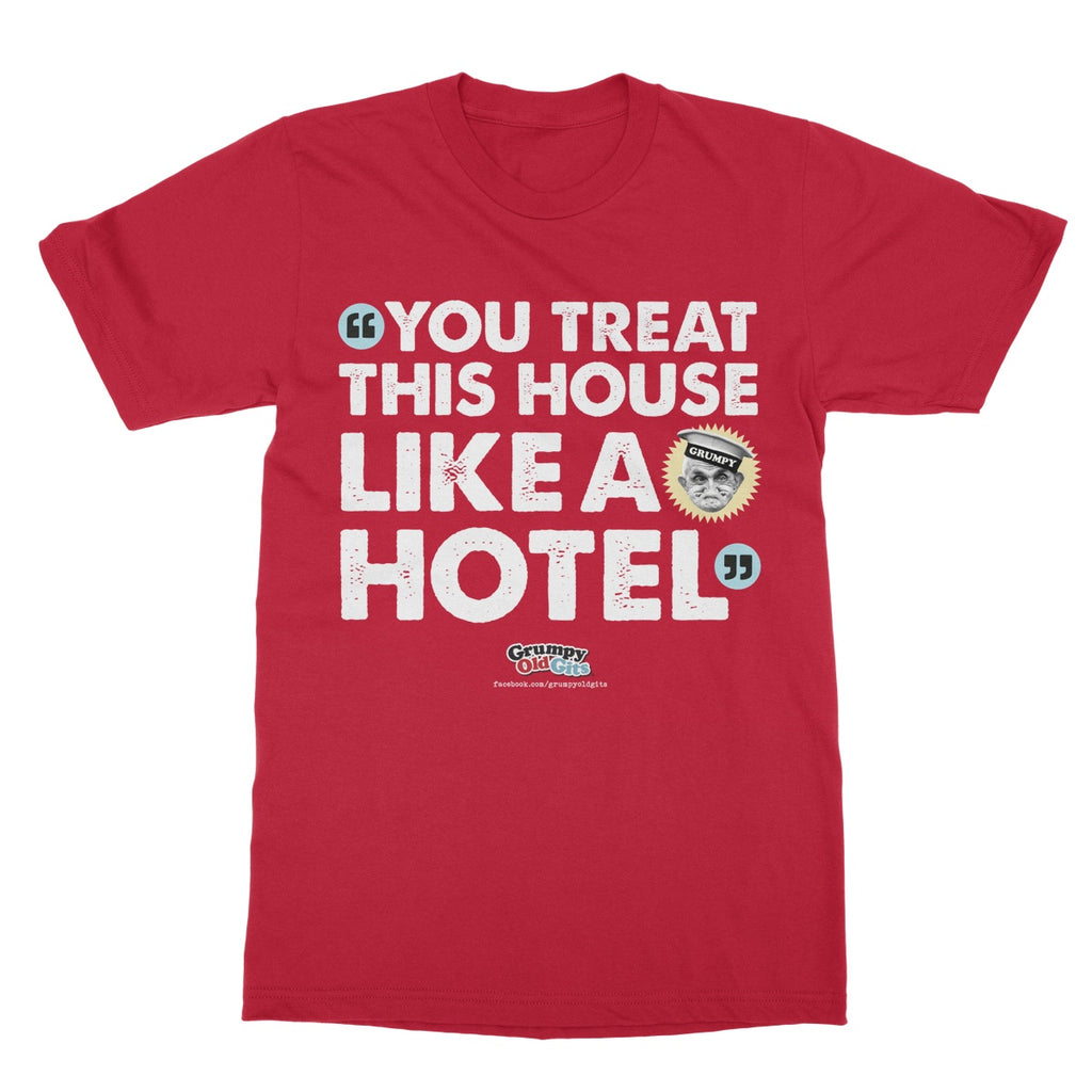 Grumpy Old Gits Hotel T-Shirt - The Official Aunty Acid Store