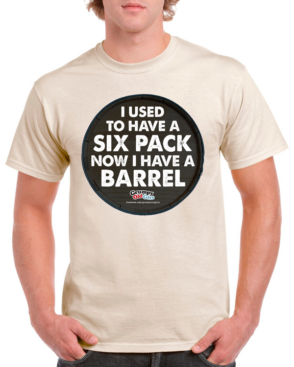 Grumpy Old Gits Barrel T-Shirt - The Official Aunty Acid Store