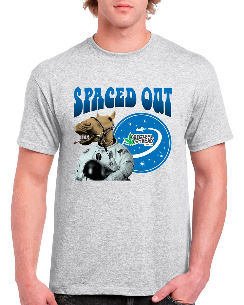 Potheads Spaced Out Camel T-Shirt
