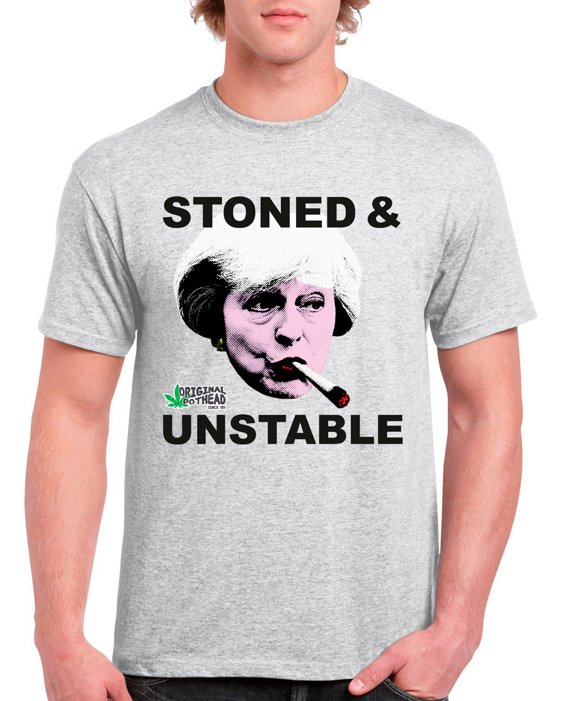 Potheads Stoned and Unstable T-Shirt