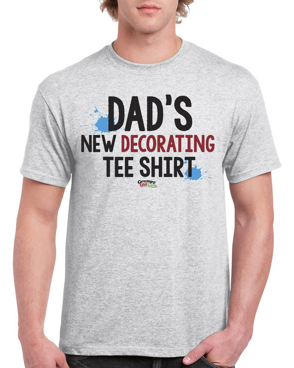 Grumpy Old Gits New Decorating T-Shirt - The Official Aunty Acid Store
