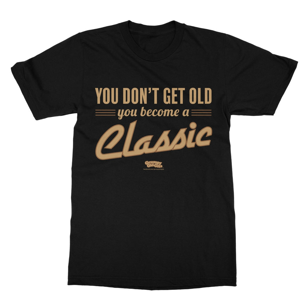 Grumpy Old Gits Classic T-Shirt - The Official Aunty Acid Store