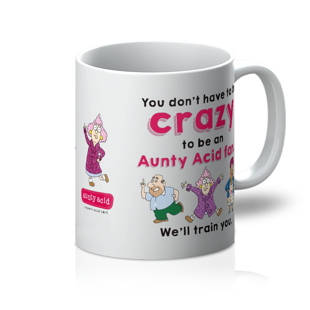 Aunty Acid Crazy Mug - The Official Aunty Acid Store