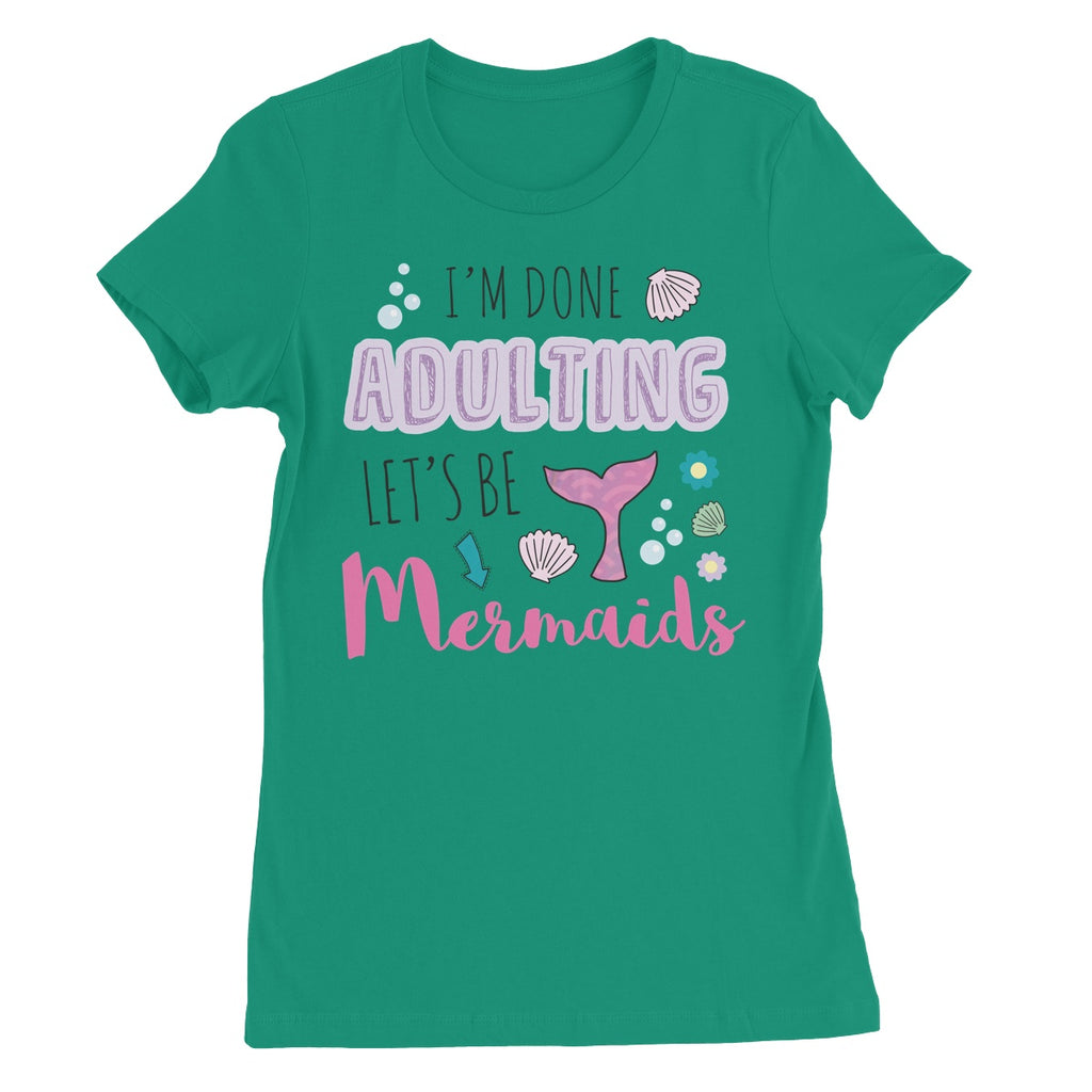 Queens of Sass Mermaids T-Shirt - The Official Aunty Acid Store