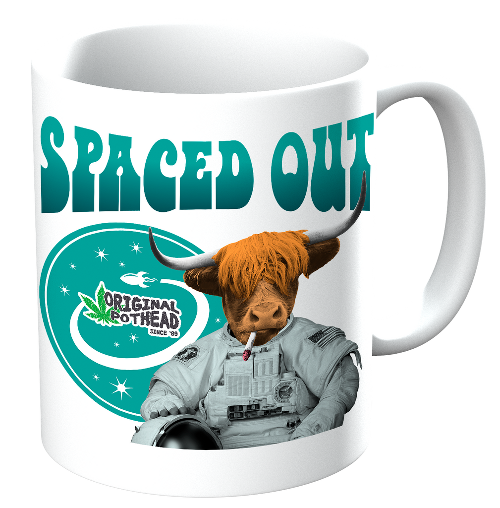 Potheads Spaced Out Cow Mug - The Official Aunty Acid Store