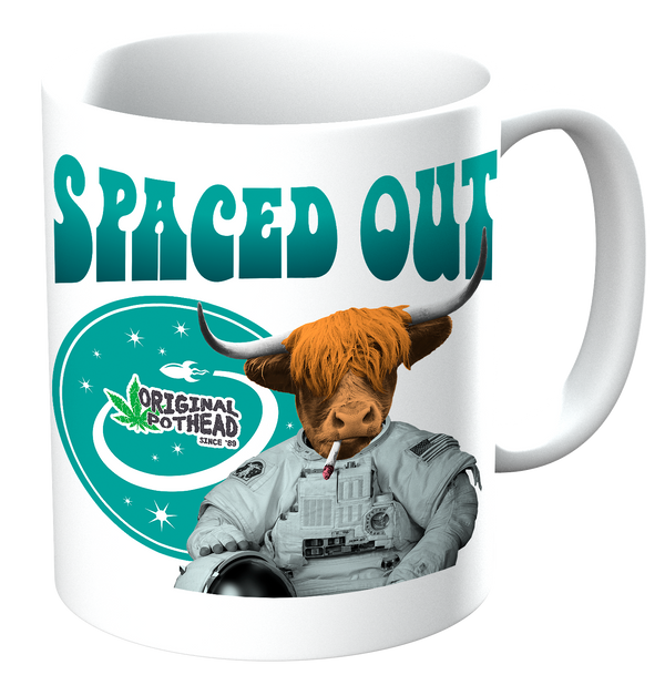 Potheads Spaced Out Cow Mug