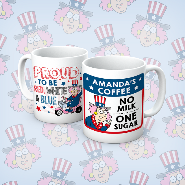 Aunty Acid Proud To Be Personalised Mug - The Official Aunty Acid Store