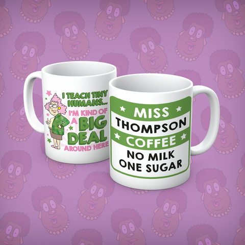 Aunty Acid Tiny Humans Personalised Mug - The Official Aunty Acid Store