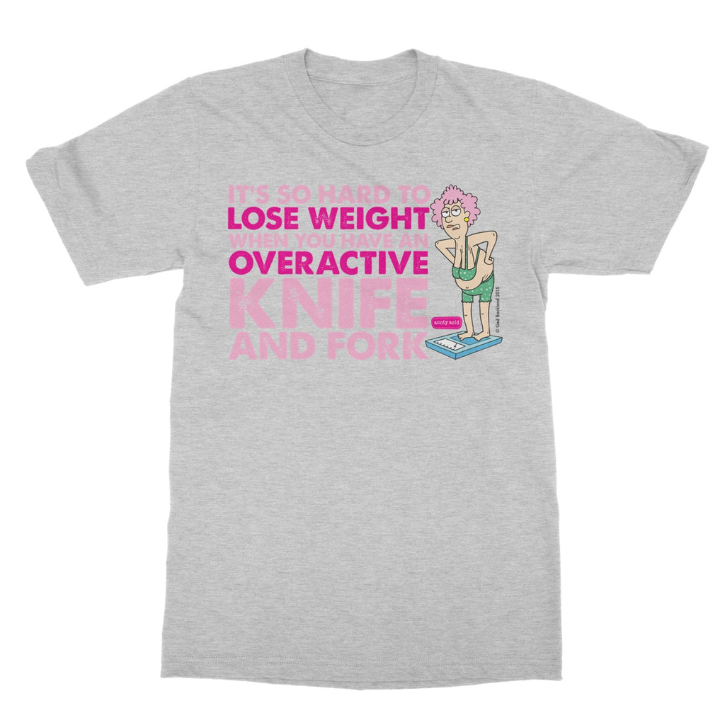 Aunty Acid Lose Weight Softstyle T-Shirt - The Official Aunty Acid Store