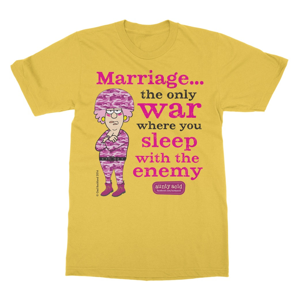 Aunty Acid Marriage T-Shirt - The Official Aunty Acid Store