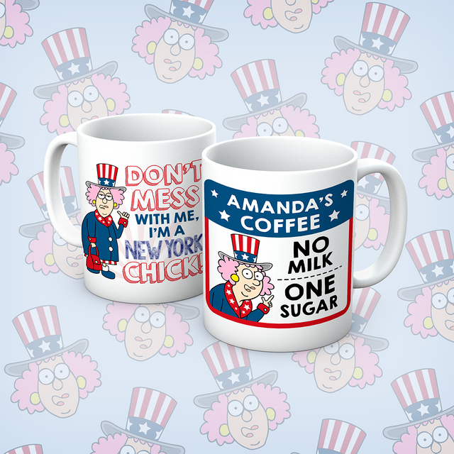 Aunty Acid New York Chick Mug - The Official Aunty Acid Store