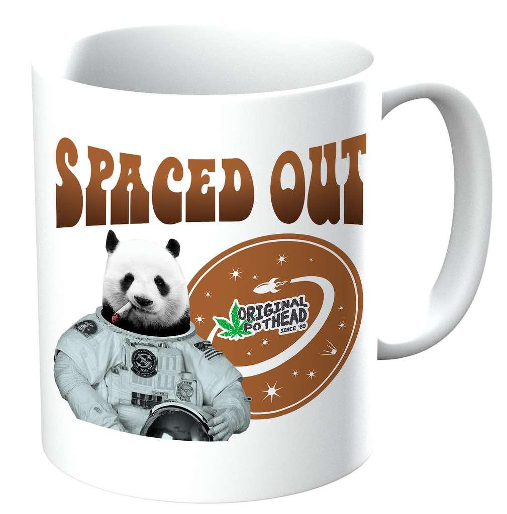 Potheads Spaced Out Panda Mug - The Official Aunty Acid Store