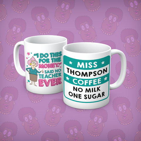 Aunty Acid I Do This Personalised Mug - The Official Aunty Acid Store