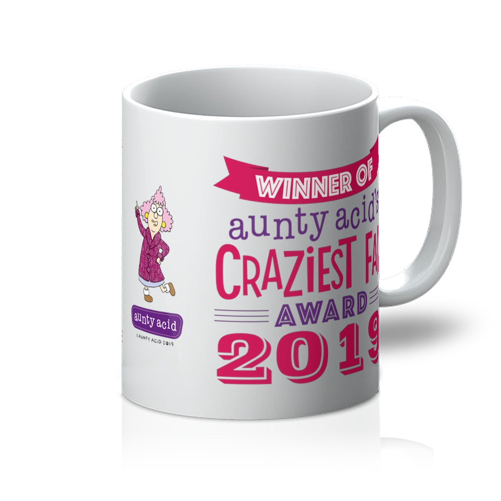 Aunty Acid Winner Mug - The Official Aunty Acid Store