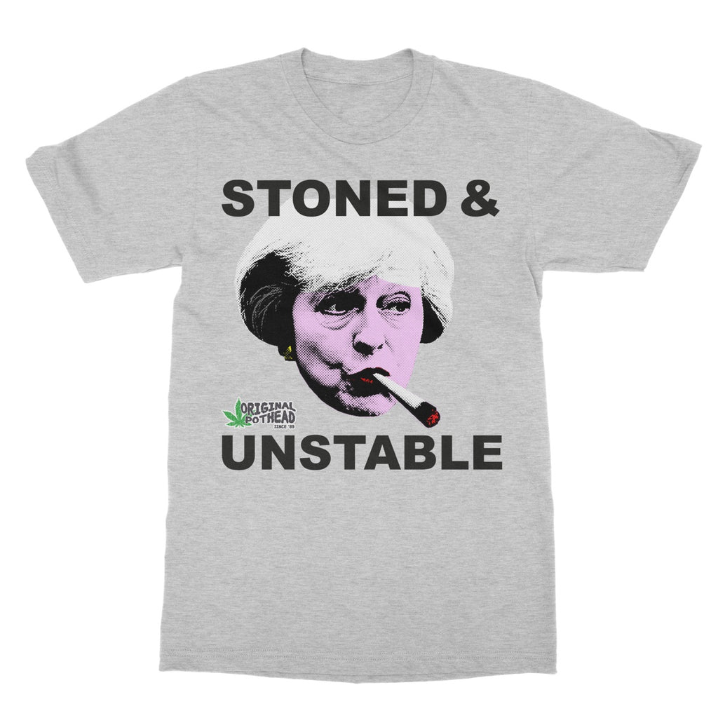 Potheads Stoned and Unstable T-Shirt - The Official Aunty Acid Store