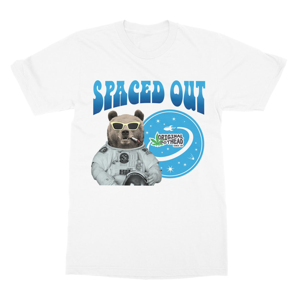 Potheads Spaced Out Bear T-Shirt - The Official Aunty Acid Store